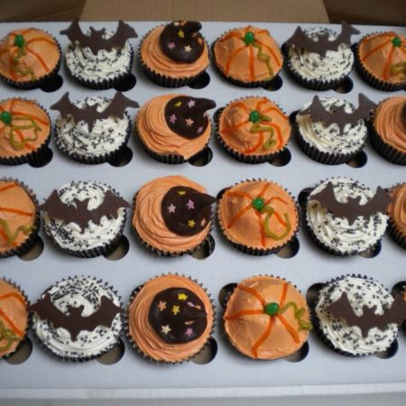 Spooky Halloween Cupcakes The Great British Bake Off