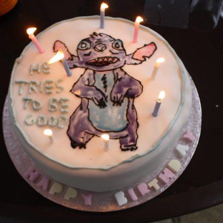 Stitch Birthday Cake | The Great British Bake Off
